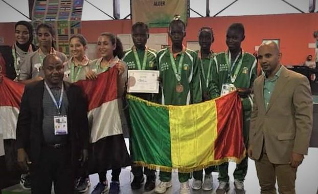 JAJ « Alger »2018 : les escrimeuses du Mali décrochent le bronze