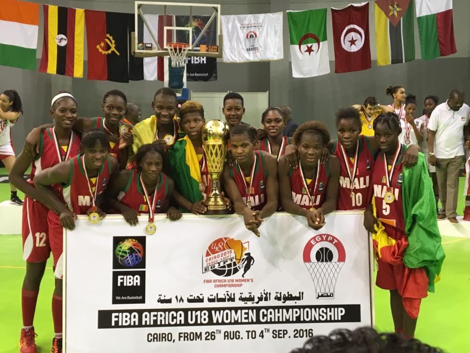 Afrobasketball U18 féminin Maputo 2018 : le Mali dans le groupe B !