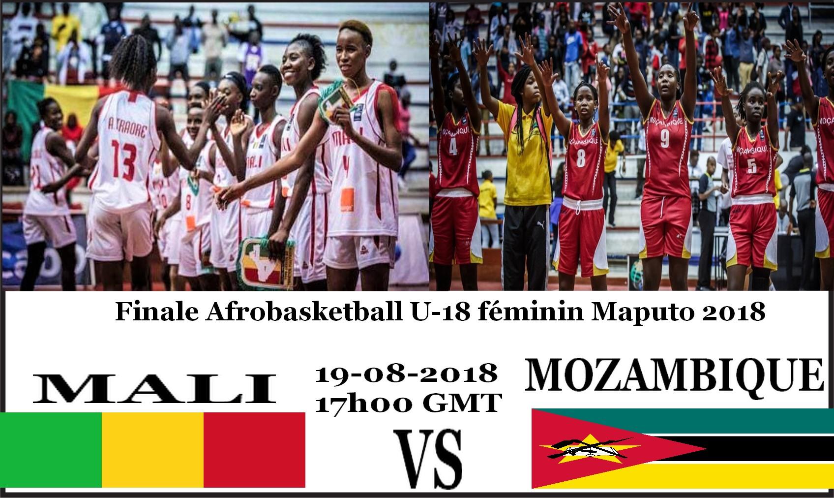 Afrobasketball U-18 (F) : Mali vs Mozambique en finale ce dimanche