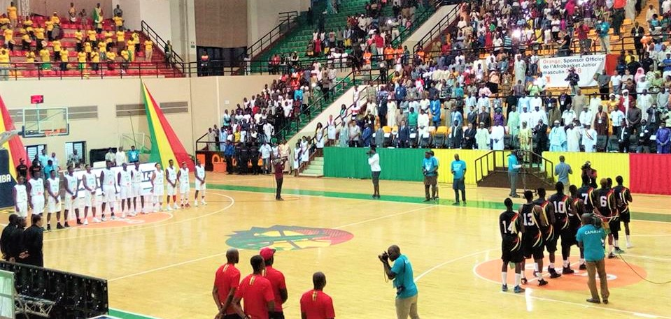 Afrobasket U-18 Garçons 2018: les Aiglons mettent le public dans la poche !