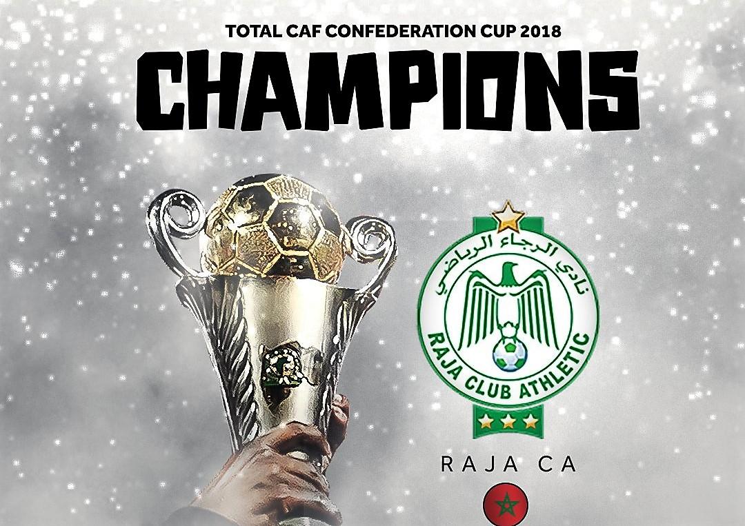 Coupe CAF 2018 : le  Raja Club remporte le trophée
