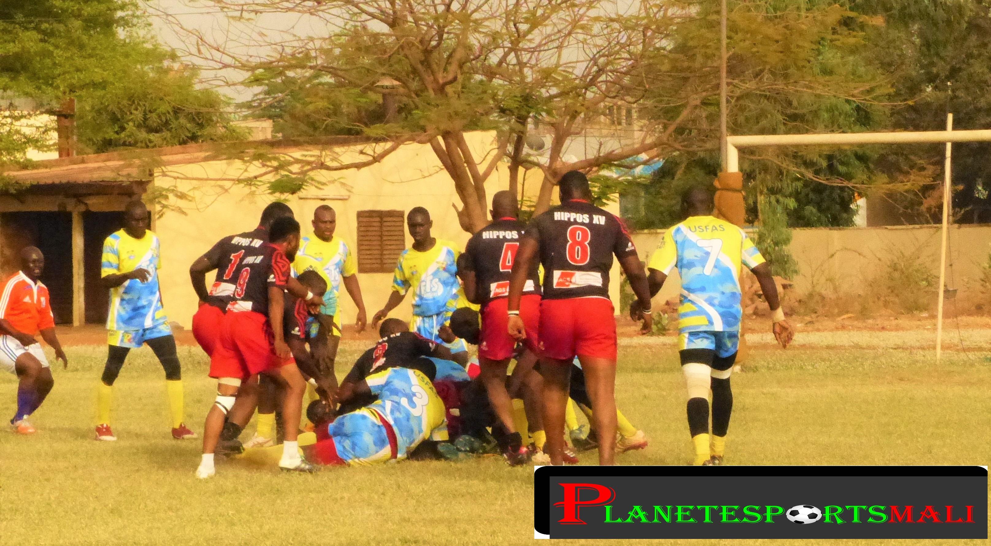 Rugby à XV  -championnat national: l'USFAS gagne d'entrée