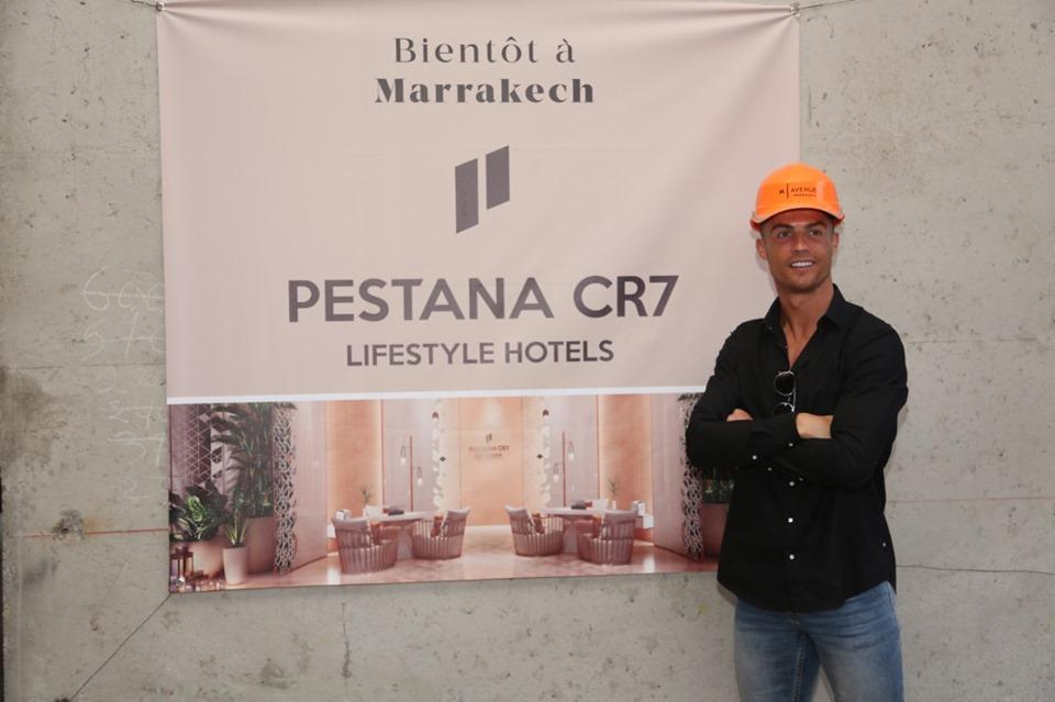 Maroc : l'hôtel de Cristiano Ronaldo en chantier