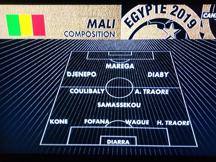Mali vs Mauritanie: voici le onze malien