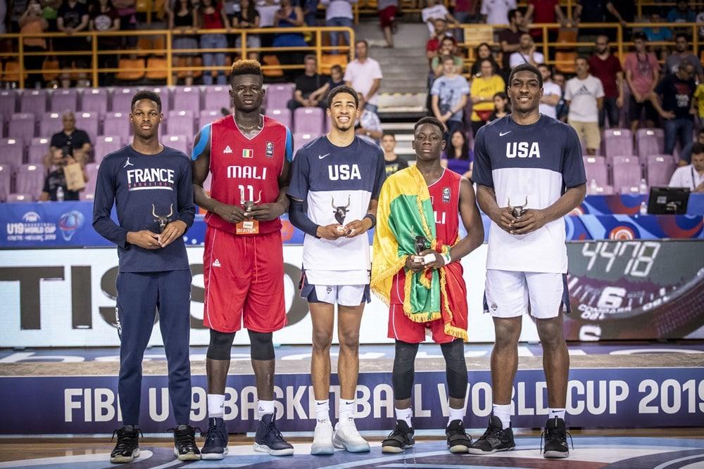 WC U19 FIBA 2019 : 2 Maliens parmi les 5 majeurs