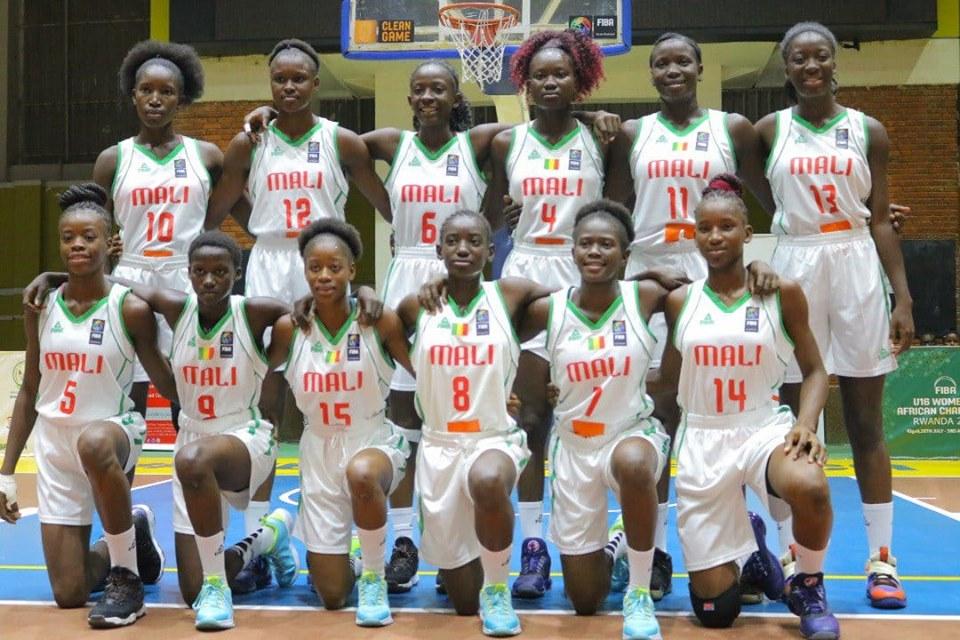 Afrobasketball U16 Filles 2019 : le Mali en quart !