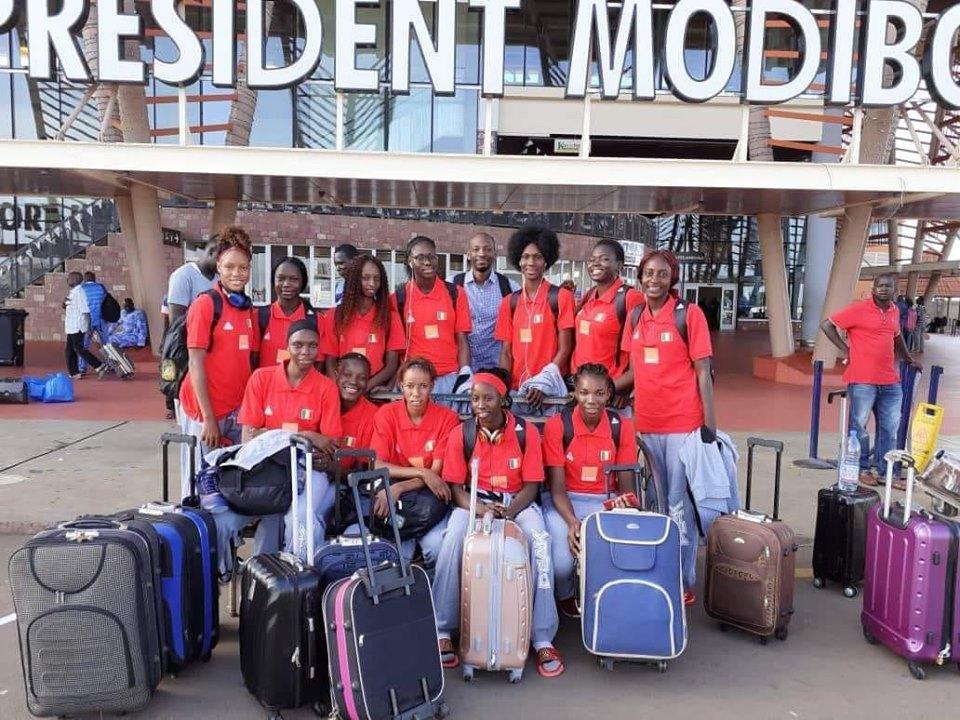 WC FIBA U19 (D) : les Maliennes s'envolent pour Thaïlande